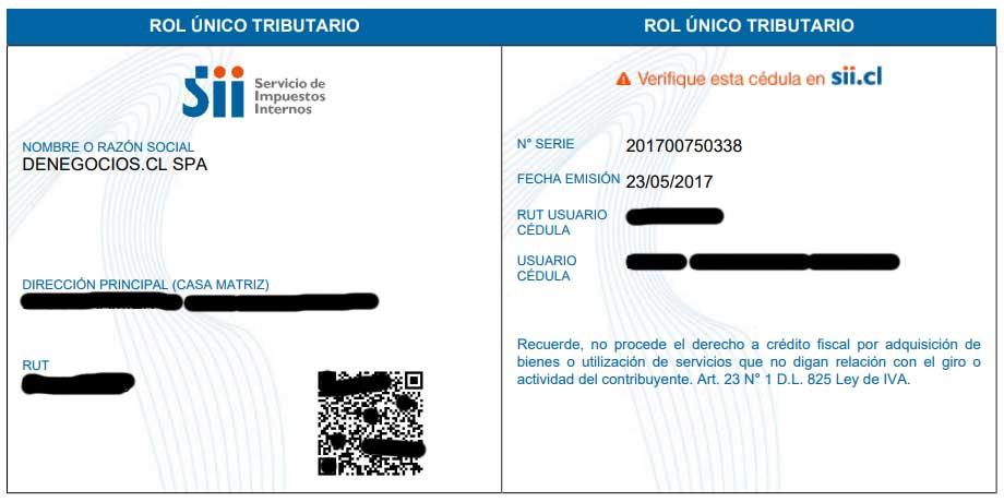 Rut Empresa en Chile